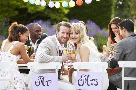 Wedding party at Prado Villas