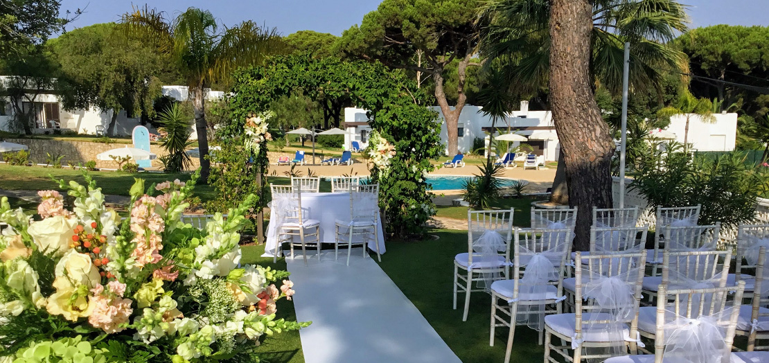 Perfect location for a wedding ceremony